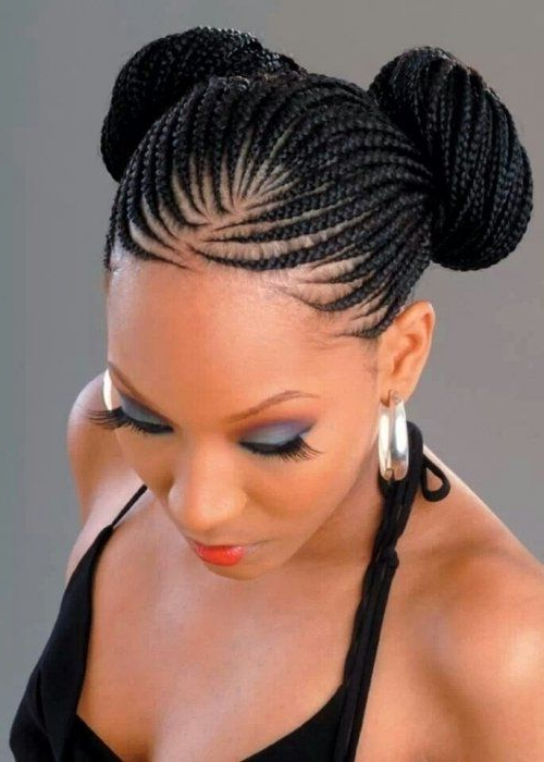 101 African Hair Braiding Pictures Photo Gallery | Updo In Within Most Popular Lovely Black Braided Updo Hairstyles (View 7 of 25)