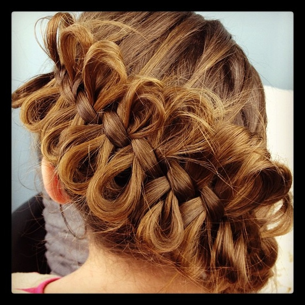 101 Braid Hairstyles For (Endless!) Inspiration With Regard To Current Heart Shaped Fishtail Under Braid Hairstyles (View 14 of 25)