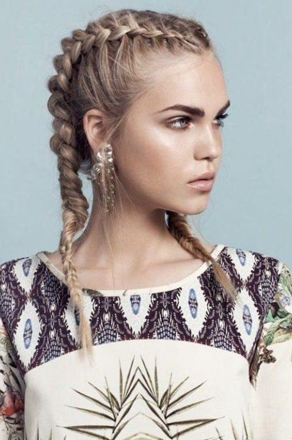 101 Of The Most Stylish Dutch Braids For 2019 For Best And Newest Stylishly Swept Back Braid Hairstyles (View 19 of 25)