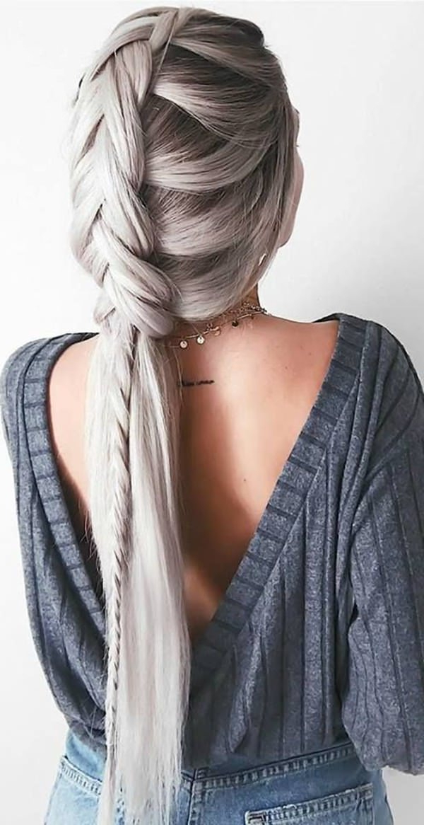 101 Of The Most Stylish Dutch Braids For 2019 Within Current Wide Crown Braided Hairstyles With A Twist (View 4 of 25)