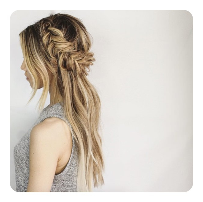 104 Fishtail Braids Hairstyles That Turn Heads With Regard To Most Current Thick Two Side Fishtails Braid Hairstyles (View 18 of 25)