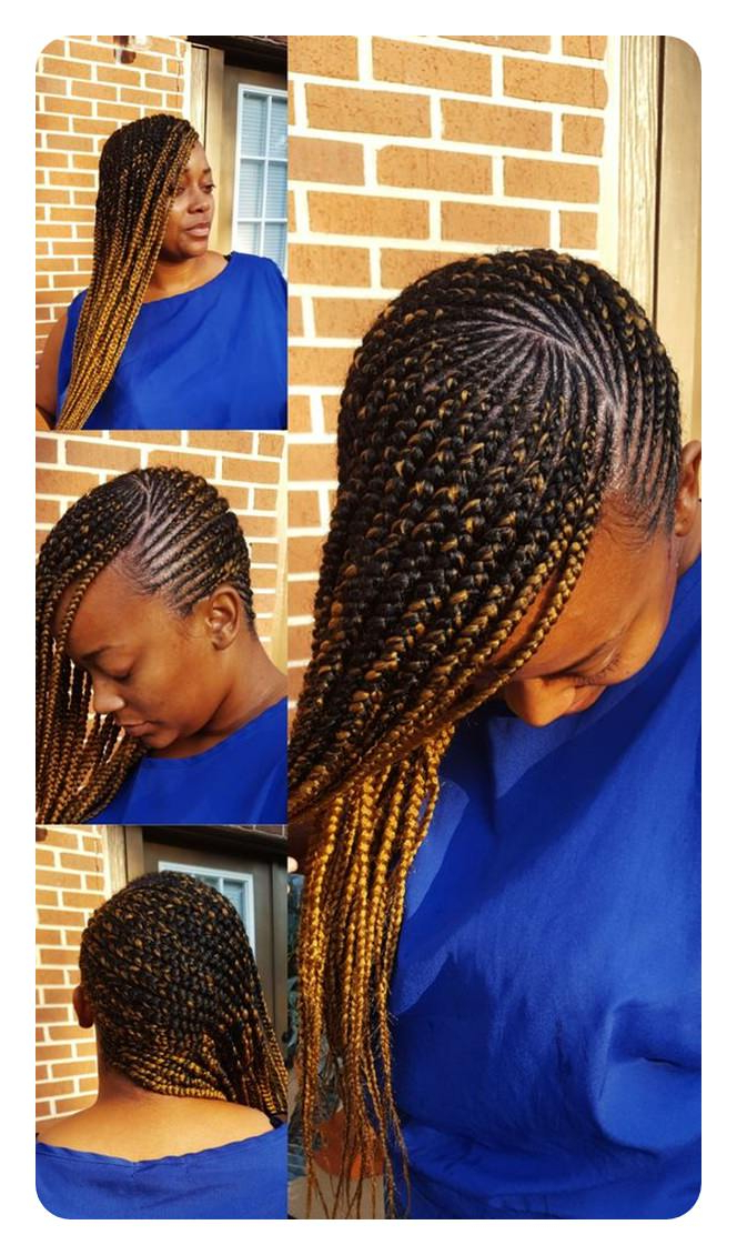 105 Sexy Lemonade Braids To Try – Style Easily Inside Most Popular Golden Swirl Lemonade Braided Hairstyles (View 10 of 25)