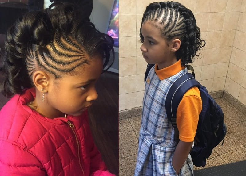 11 Awesome Mohawk Styles For Little Girls To Copy This Year With Regard To Best And Newest Mohawk Braided Hairstyles With Beads (View 21 of 25)