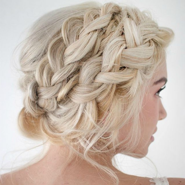 11 Hair Instagrams To Inspire Your Nye 'do | Braids | Hair In Most Current Double Crown Updo Braided Hairstyles (View 15 of 25)