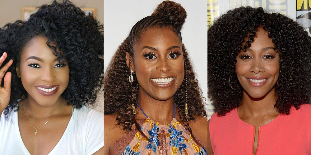 12 Best Crochet Hairstyles 2019 – Pictures Of Curly Crochet Hair Inside Most Popular Angled Braided Hairstyles On Crimped Hair (View 23 of 25)