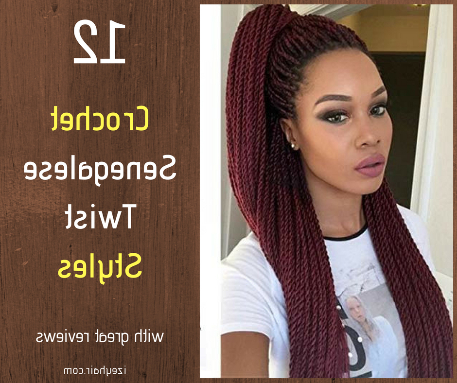 12 Best Crochet Senegalese Twist Based On Customer Reviews Throughout Best And Newest Black And Brown Senegalese Twist Hairstyles (View 20 of 25)