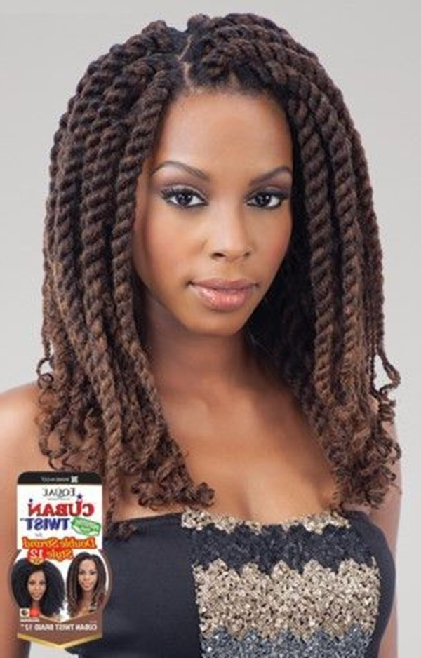 125 Trendy Yarn Braids You Should Wear Throughout Best And Newest Jumbo Twists Yarn Braid Hairstyles (View 12 of 25)