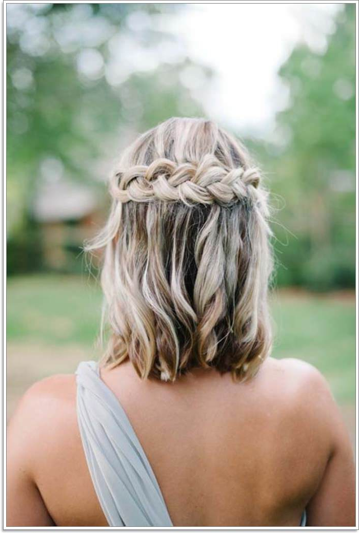 135 Whimsical Half Up Half Down Hairstyles You Can Wear For With Most Recently Pretty Pinned Back Half Updo Braids (View 8 of 25)