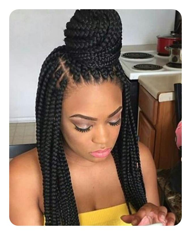 136 Stunning Lemonade Braids Perfect For Women Of All Ages With Regard To Most Popular Classic Style Lemonade Braided Hairstyles (View 15 of 25)