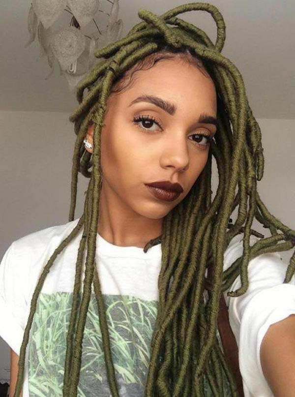 136 Trendy Yarn Braids You Can Wear In 2019! Regarding Most Current Side Swept Yarn Twists Hairstyles (View 13 of 25)