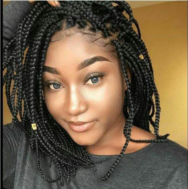 136 Trendy Yarn Braids You Can Wear In 2019! Within Best And Newest Blue And Gray Yarn Braid Hairstyles With Beads (View 13 of 25)