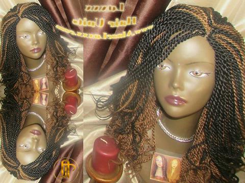 14' Black Auburn 1 B 30 Curly Senegalese Twist Wig Unit! 2 Toned ' Alopecia Natural Hair Kinky Marley Crochet Twist Box Braid Braided Faux Loc Dred Regarding 2018 Black And Brown Senegalese Twist Hairstyles (View 21 of 25)