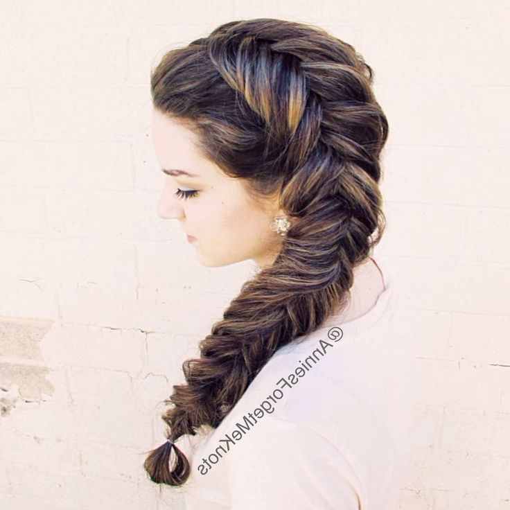 15 Adorable Mermaid Braids – Pretty Designs Intended For Latest Mermaid Braid Hairstyles With A Fishtail (View 22 of 25)