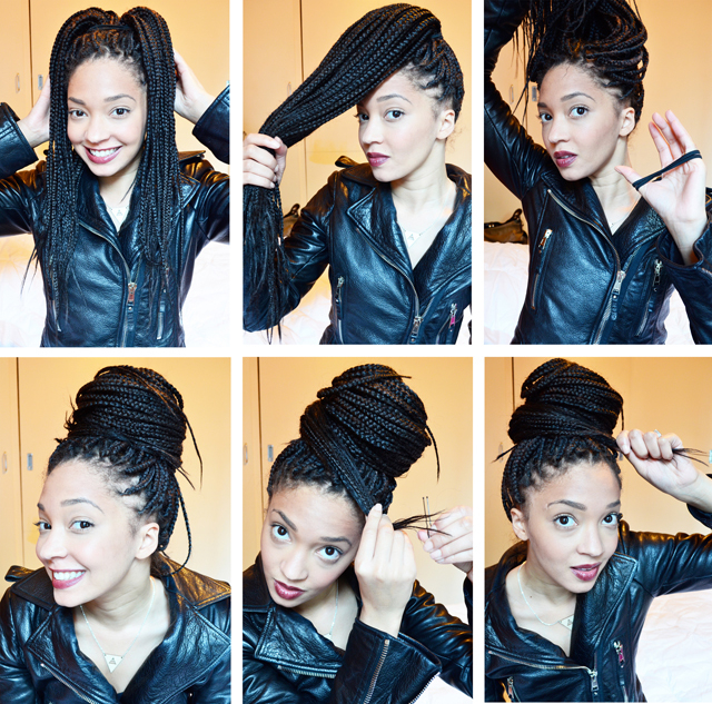 15 Box Braids Hairstyles That Rock – More Intended For 2018 Box Braided Bun Hairstyles (View 19 of 25)