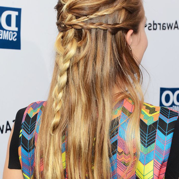15 Braided Hairstyles That Are Actually Cool (We Swear) Inside Most Up To Date Boho Half Braid Hairstyles (View 18 of 25)