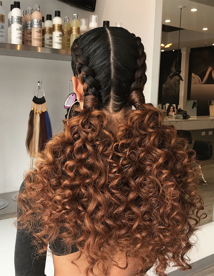 15 Braided Hairstyles You Need To Try Next | Naturallycurly Inside 2018 Micro Braids Into Ringlets (View 11 of 25)