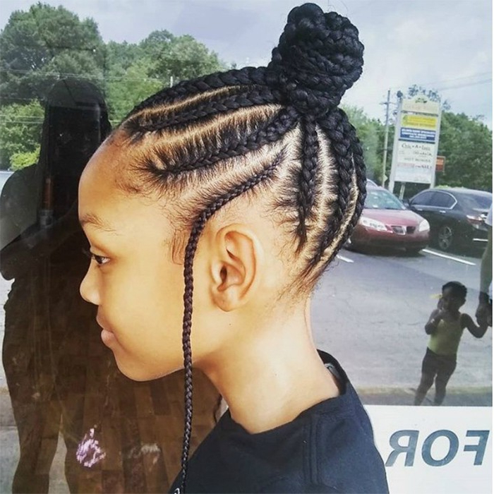 15 Kid Friendly Curly Hairstyles | Naturallycurly With 2018 Minnie Mouse Buns Braid Hairstyles (View 8 of 25)