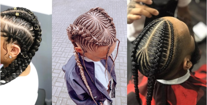 15 Most Beautiful Thick Cornrows Hairstyles To Try Out In For Newest Thick Cornrows Bun Hairstyles (View 23 of 25)