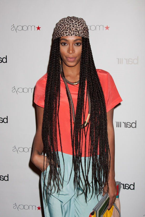 150 Chic Box Braids Styles That You Should Try Inside Most Popular Braided Hairstyles With Beads And Wraps (View 18 of 25)