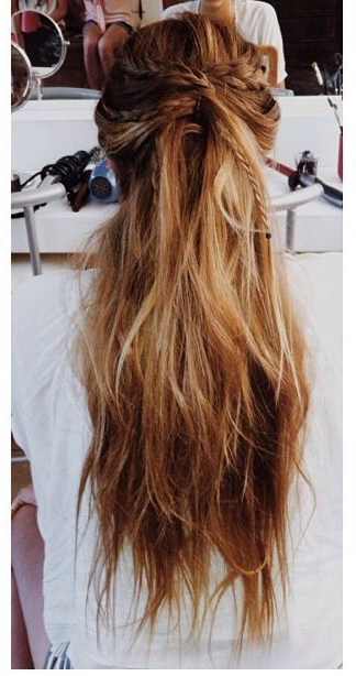 16 Boho Twisted Hairstyles And Tutorials – Pretty Designs In Most Recent Boho Half Braid Hairstyles (View 16 of 25)