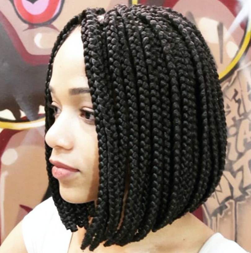 17 Beautiful Braided Bobs From Instagram You Need To Give A Try With Latest Mini Braids Bob Hairstyles (View 25 of 25)