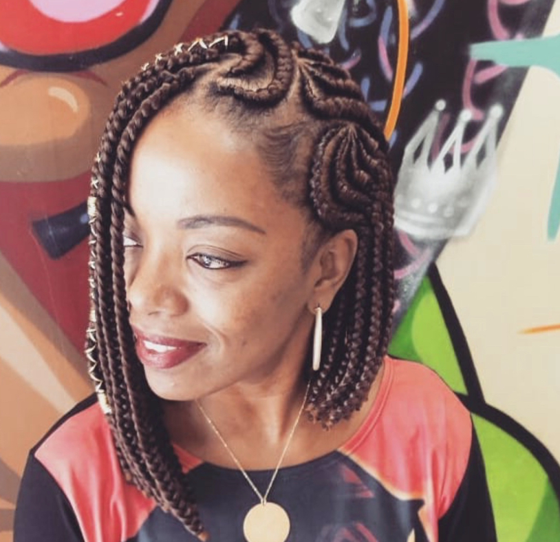17 Beautiful Braided Bobs From Instagram You Need To Give A Try Within Best And Newest Multicolored Bob Braid Hairstyles (View 14 of 25)