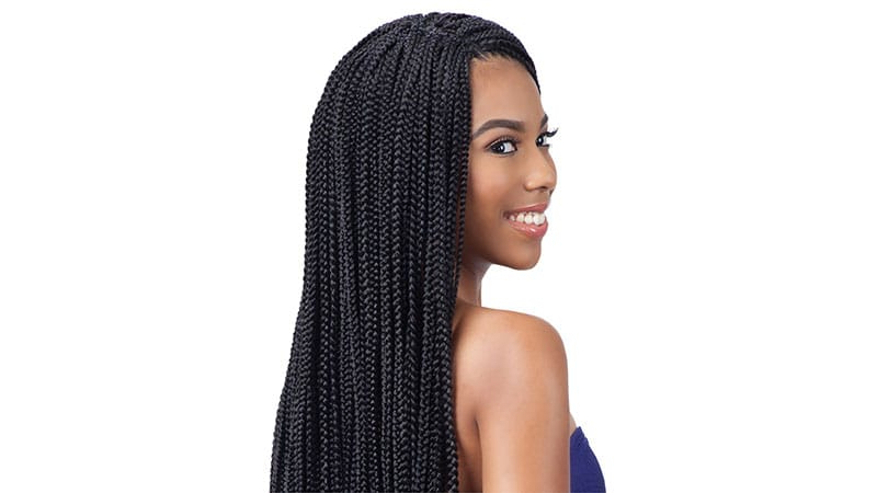 18 Crochet Braids Hairstyles You Will Love – The Trend Spotter Intended For Current Curly Crochet Micro Braid Hairstyles (View 17 of 25)