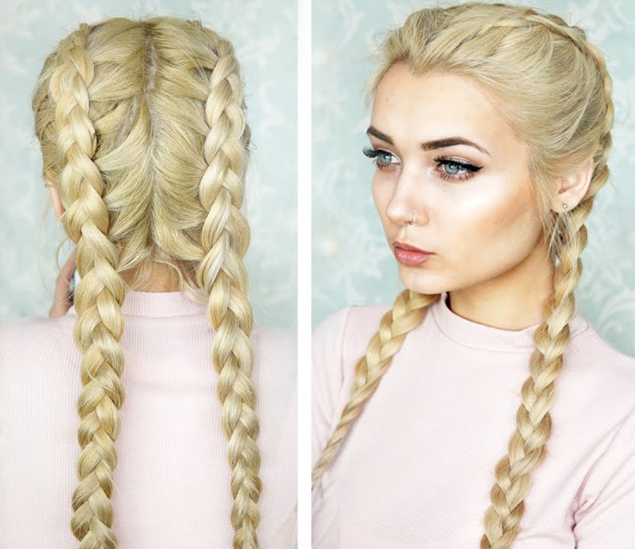 18 Hairstyles That Prove Pigtails Aren't Just For Kids – More Intended For Best And Newest Blonde Asymmetrical Pigtails Braid Hairstyles (View 7 of 25)