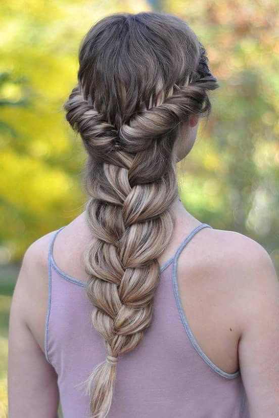 20 Braid Hairstyles For Your Weekend – Pretty Designs Inside Most Recently Twisted Mermaid Braid Hairstyles (View 5 of 25)