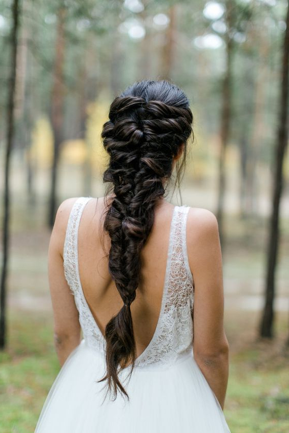 20 Braid Hairstyles For Your Weekend – Pretty Designs Intended For Current Messy Mermaid Braid Hairstyles (View 23 of 25)