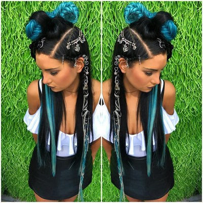 20 Festival Hairstyle Ideas For 2018 – Music Festival Hair Intended For Current Tight Green Boxer Yarn Braid Hairstyles (View 13 of 25)