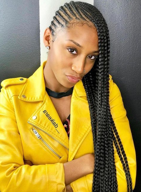 Featured Photo of Classic Style Lemonade Braided Hairstyles