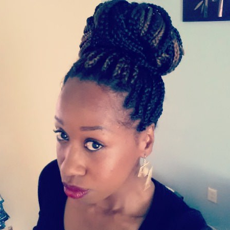 20 Iconic Box Braids Hairstyles For Newest Funky Sock Bun Micro Braid Hairstyles (View 13 of 25)