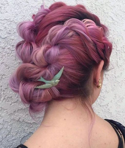 20 Inspiring Ideas For Rope Braid Hairstyles | Hairstyles Regarding 2018 Pink Rope Braided Hairstyles (View 5 of 25)