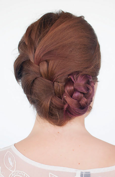20 Stylish Bun Hairstyles That You Will Want To Copy – The Inside Most Popular Braids And Buns Hairstyles (View 24 of 25)