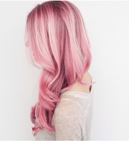 20 Stylish Cotton Candy Hair Color Ideas – Easy Hairstyles Within Most Popular Cotton Candy Colors Blend Mermaid Braid Hairstyles (View 20 of 25)