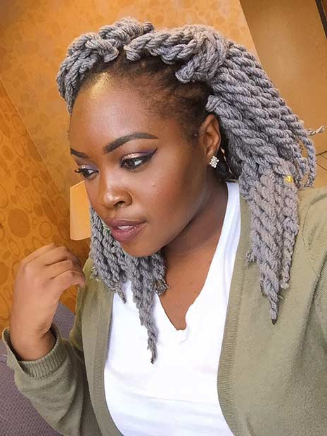 21 Best Protective Hairstyles For Black Women   Page 2 Of 2 Pertaining To Most Popular Side Swept Yarn Twists Hairstyles (View 10 of 25)