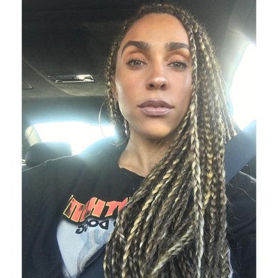 21 Dope Box Braids Hairstyles To Try | Allure Regarding 2018 Multicolored Extension Braid Hairstyles (View 18 of 25)
