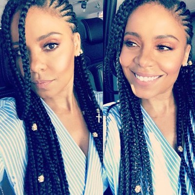 21 Dope Box Braids Hairstyles To Try | Allure With Most Recent Side Parted Braid Hairstyles (View 23 of 25)