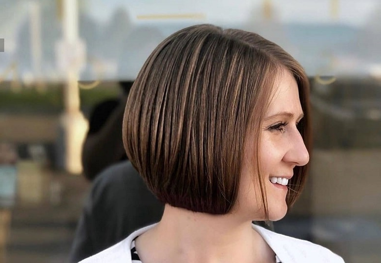 21 Short Inverted Bob Hairstyles And Its Evolution Over Time Within Most Recently Short Stacked Bob Micro Braids (View 20 of 25)