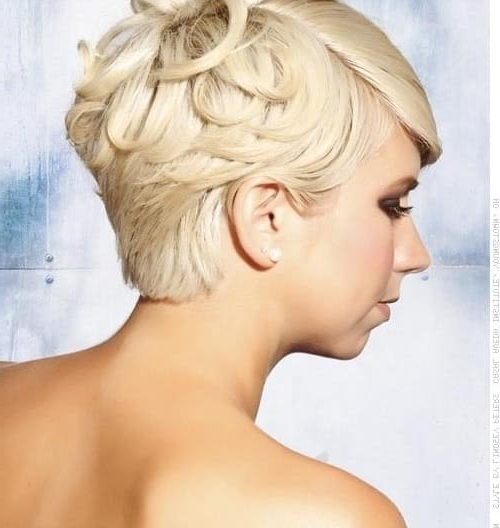 23 Flirty Formal Hairstyles For Short Hair That Look Flawless With Most Recently Short Stacked Bob Micro Braids (View 24 of 25)