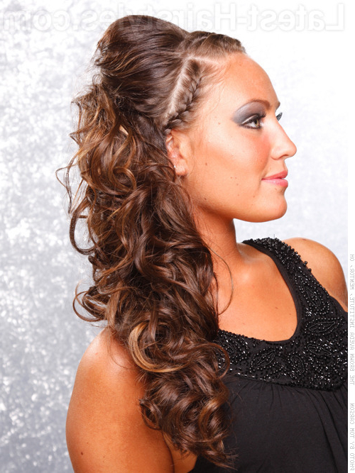 23 Gorgeous Formal Half Updos You'll Fall In Love With Intended For Most Recently Angled Braided Hairstyles On Crimped Hair (View 22 of 25)