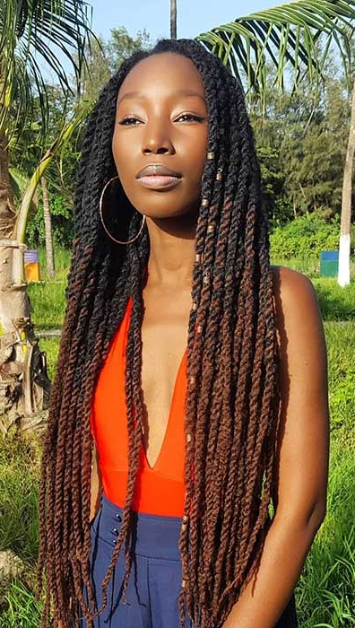 23 Hot Marley Twist Hairstyles To Try Right Now | Page 2 Of For Latest Blonde Ponytail Hairstyles With Yarn (View 17 of 25)