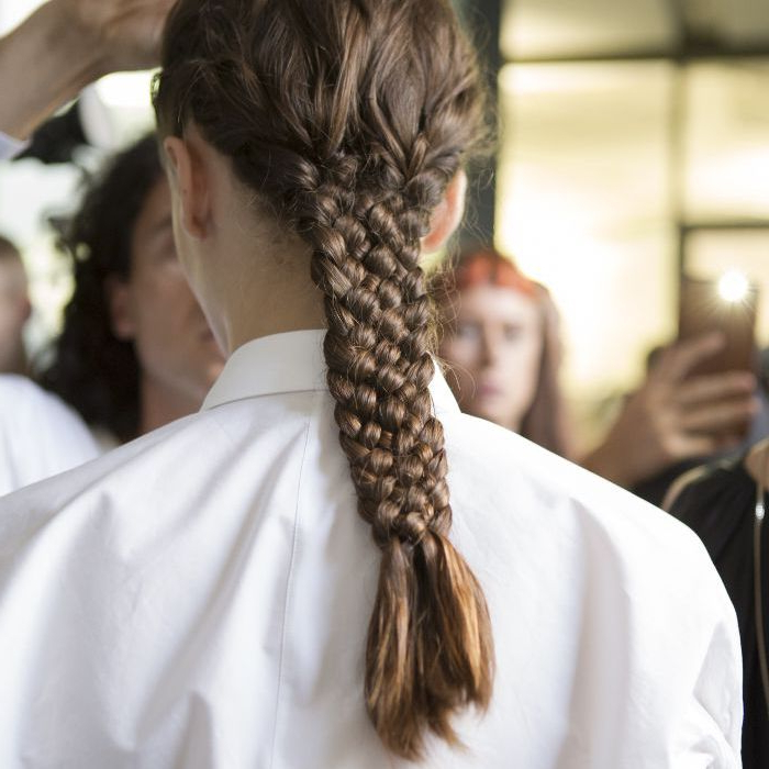24 Braids Throughout Most Recently Double Half Up Mermaid Braid Hairstyles (View 15 of 25)