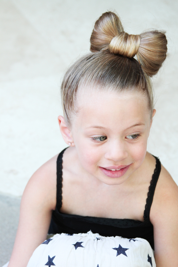 25 Awesome Hairstyles For Little Girls Making Them Look For Current Minnie Mouse Buns Braid Hairstyles (View 6 of 25)