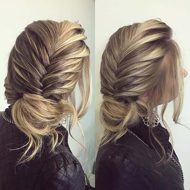 25 Best Formal Hairstyles To Copy In 2018 | Page 2 Of 2 Intended For Most Recent Oversized Fishtail Braided Hairstyles (View 22 of 25)