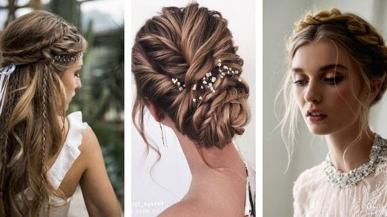 25 Braided Hairstyles For Summer Weddings – Belletag Intended For Most Recent Wedding Braided Hairstyles (View 24 of 25)
