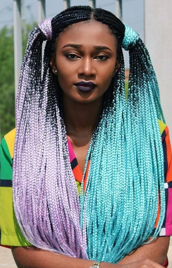 25 Charming Lemonade Braids To Rock Your Appearance Regarding 2018 Royal Braided Hairstyles With Highlights (View 5 of 25)