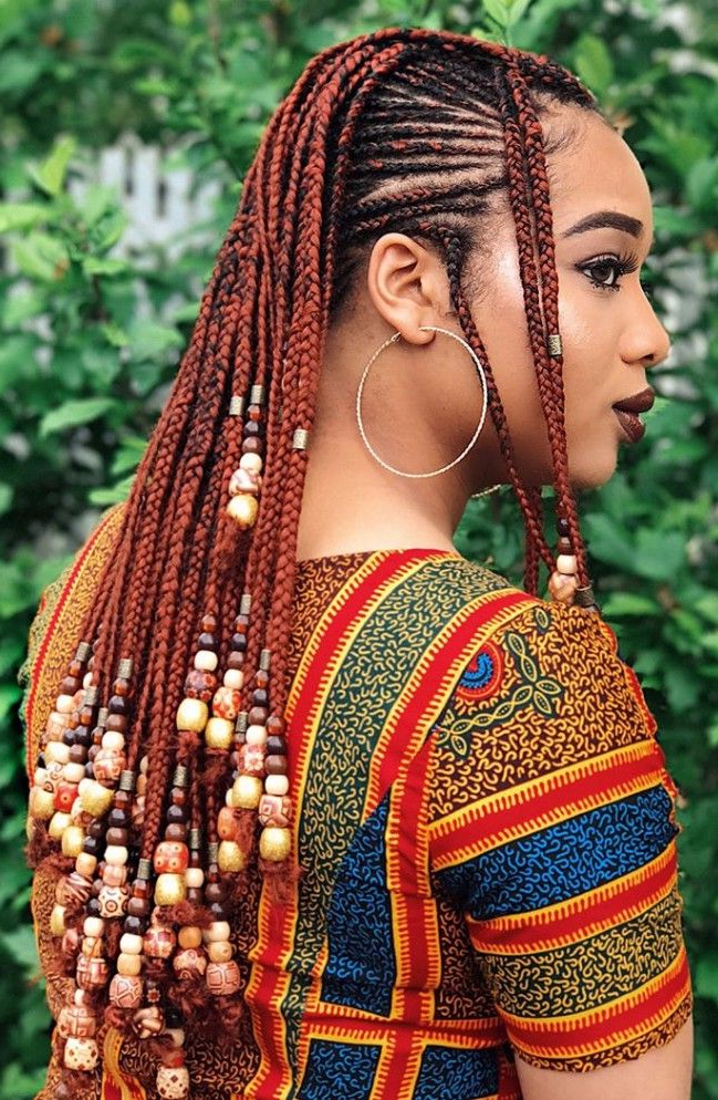 25 Charming Lemonade Braids To Rock Your Appearance Throughout 2018 Geometric Blonde Cornrows Braided Hairstyles (View 8 of 25)