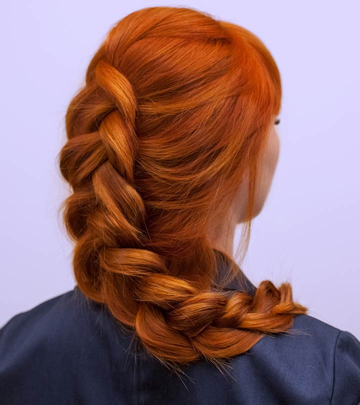 25 Eye Popping Dutch Braid Hairstyles – Tutorial With Pictures Within Latest Voluminous Halo Braided Hairstyles (View 16 of 25)